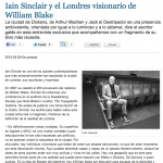 Iain Sinclair y el Londres visionario de William Blake