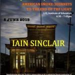 Iain Sinclair @ Reading Poetry Festival 2013