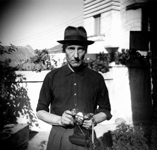 _1__Press_Image_l_Unknown_Photographer__Burroughs_in_the_Villa_Mouniria_Garden__Tangier_____Estate_of_William_S._Burroughs_52b82fad28808