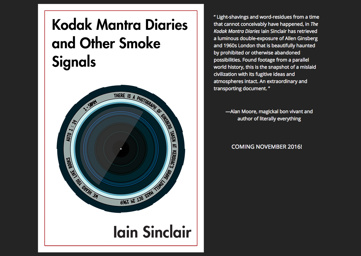 Kodak Mantra Diaries and Other Smoke Signals  now out