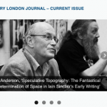 """Non-Linear Cinema and the Editing of Urban Space in the Fiction of Iain Sinclair"""" byAnthony Paraskeva (University of Roehampton)"""
